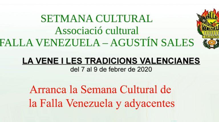 Arranca la Semana Cultural de la Falla Venezuela y adyacentes