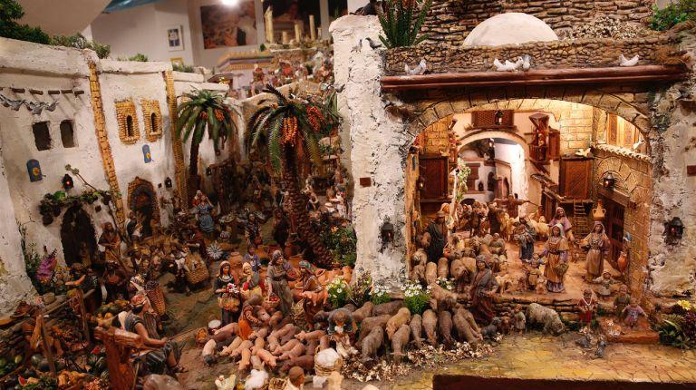 El belén monumental de Meliana, con más de 7.000 figuras, podrá ser visitado desde este sábado