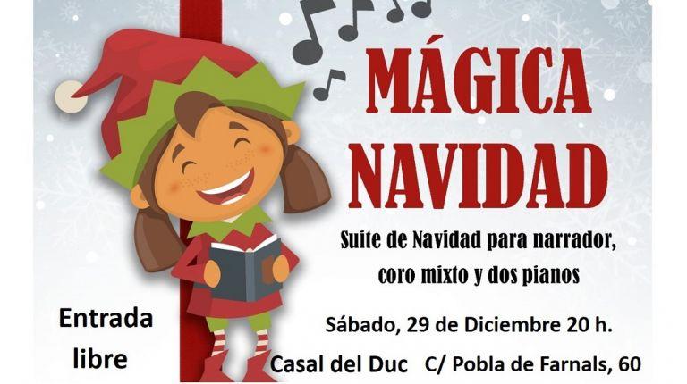 """La falla Duque de Gaeta os invita a disfrutar de su """"Mágica Navidad"""" el sábado 29 de diciembre"""