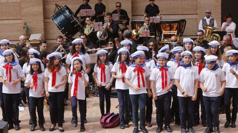 Alumnos y profesores interpretan piezas de Zarzuela en el VI Encuentro Musical de los Colegios Diocesanos