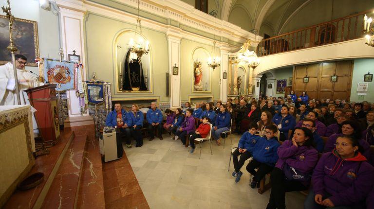 Comisiones falleras peregrinan hoy a El Palmar para ganar el Jubileo en el Año Santo