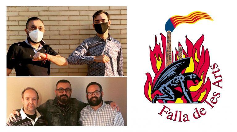 La Falla de les Arts renueva con Iván Martinez y ficha a Ricard Balanzá, para sus proyectos 2022