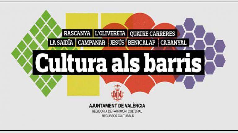 """""""CULTURA ALS BARRIS"""" CONTINÚA ESTE FIN DE SEMANA A SANT MARCEL·LÍ, ARRANCAPINS, SANT ANTONI, NATZARET Y MALILLA"""