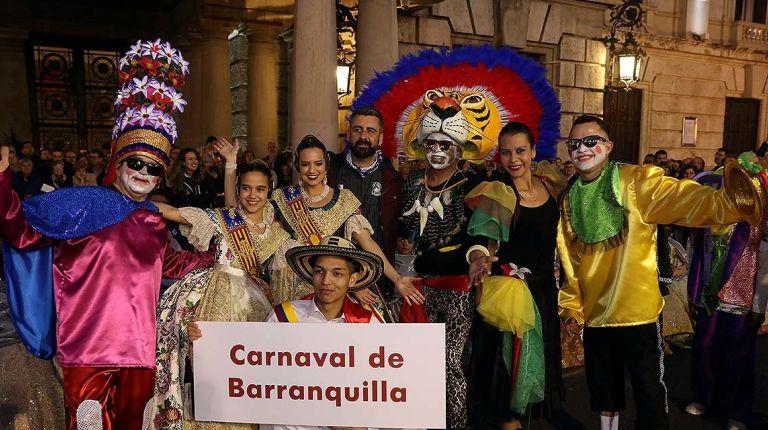 València acoge la Cuarta Cabalgata del Patrimonio