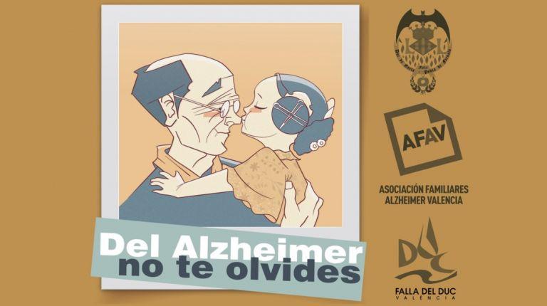 La Falla Duque de Gaeta organiza una campaña de sensibilización social junto con AFAV