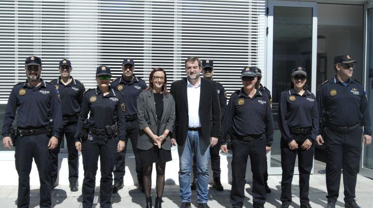 Guadassuar renueva las dependencias de la policía local con el apoyo de la Diputació