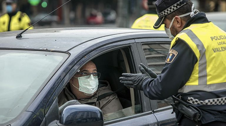 La Policía Local impone 1.619 sanciones y detiene a siete personas por incumplir el estado de alarma