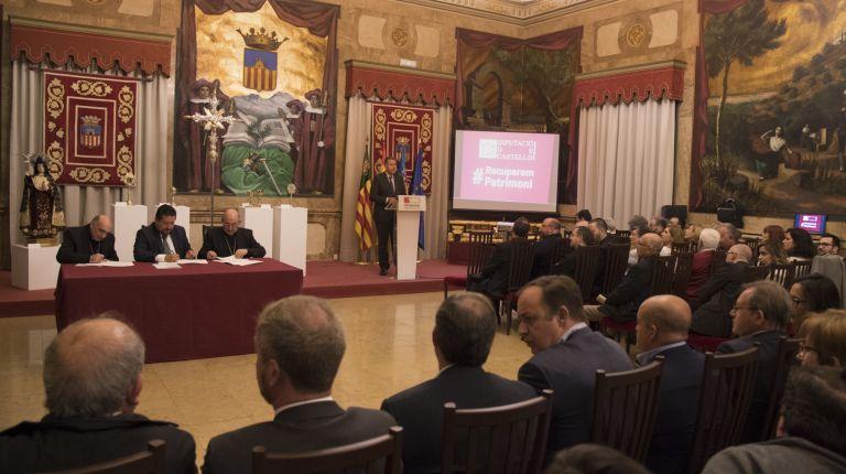La Diputación abandera el cuidado del patrimonio sacro de la provincia como activo para generar oportunidades en los pueblos