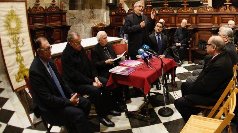 """Presentación del libro """"La Custodia procesional de la Catedral de Valencia"""""""