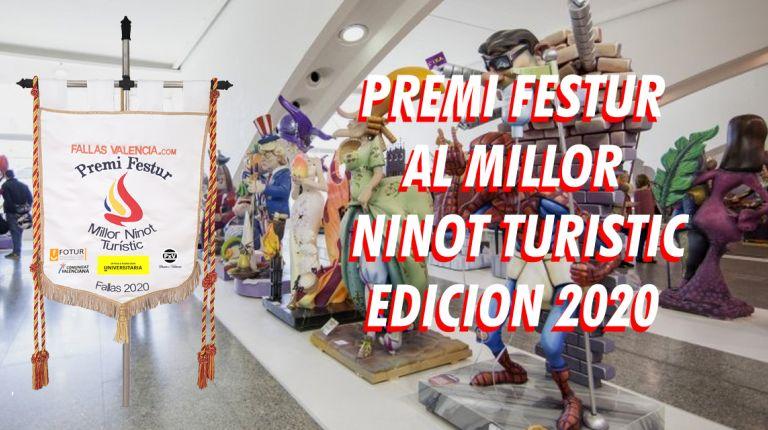 Fallasvalencia.Com convoca el Premi Festur al Millor Ninot Turístic 2020