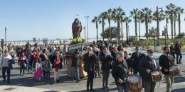 Pescadores llevarán en procesión por el Paseo Marítimo de Valencia este domingo a su patrona, la Virgen de la Buena Guía