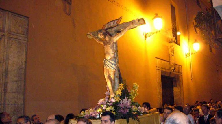 La procesión del Cristo de las Penas con imágenes del siglo XII recorrerá las calles del centro de Valencia el Jueves Santo