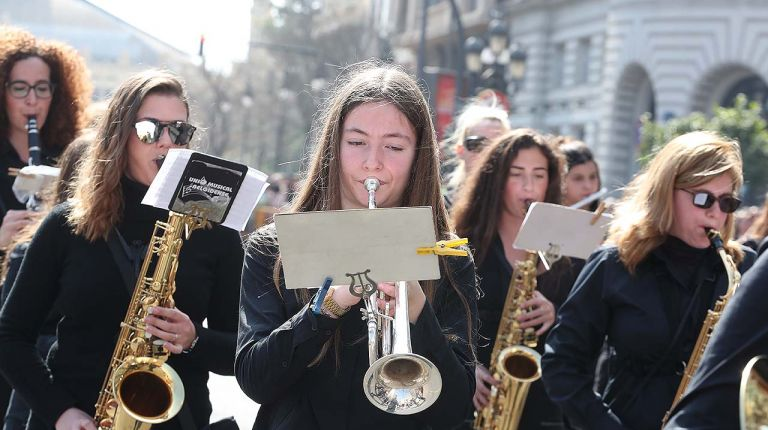 La Entrada de Bandas de Música llega a Valencia