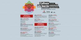 La cultura se acerca este fin de semana a siete barrios de la ciudad