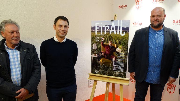 La Feria del Ajo Tierno de Xátiva contará con más de 50 stands de productores agrícolas