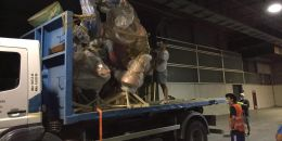 El Ayuntamiento culmina este mes la organización del traslado de los monumentos falleros en feria valència