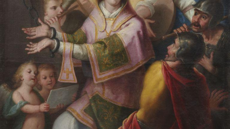 """El Museo Catedral de Valencia expone el cuadro """"San Vicente en la cárcel"""", de José Vergara, por primera vez tras su restauración"""