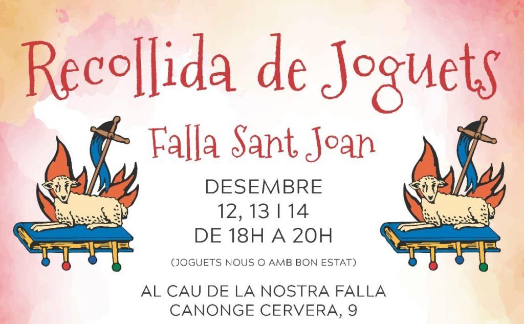 Alzira La Falla Joan Organiza Una Recogida Juguetes Sant De hdQrCts