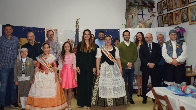 L'Associació cultural falla vicente mortes i adts depaterna lliura el premi al mèrit faller de la vila de paterna