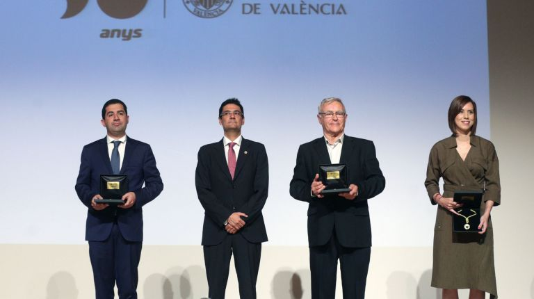 VALÈNCIA RECIBE LA MEDALLA DE LA UNIVERSITAT POLITÈCNICA DE VALÈNCIA