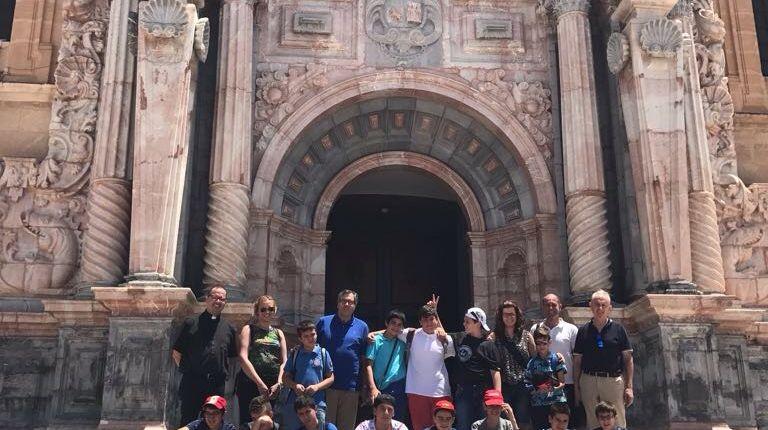 La Escolanía de la Virgen peregrina a Caravaca de la Cruz para ganar el Jubileo