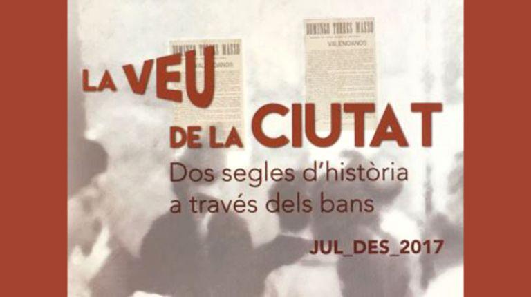 Exposición, La voz de la ciutat, en el Museu d'Història de València