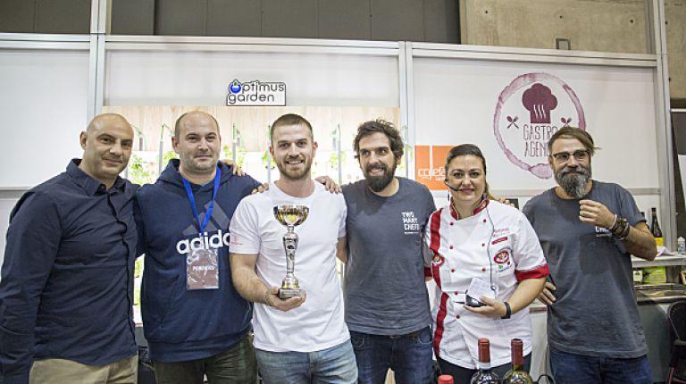 Christian Pierotto gana el I Campeonato de Pizza Profesional de la Comunitat Valenciana en Gastrónoma 2018