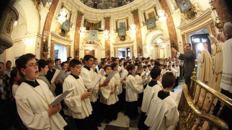 La Escolanía de la Virgen celebra una gala concierto con motivo de su 60 aniversario