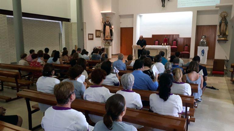El Colegio Imperial de Niños Huérfanos inicia el curso con una celebración jubilar del Año Santo Vicentino