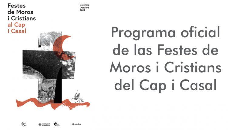 Programa oficial de las Festes de Moros i Cristians del Cap i Casal