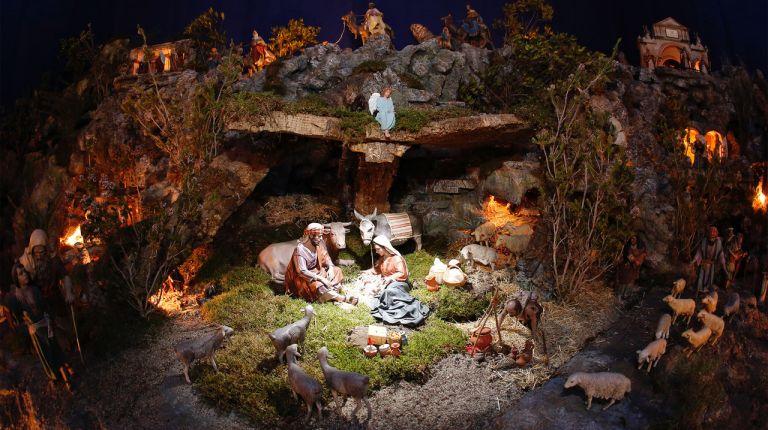 El belén de las religiosas de San José de la Montaña en Valencia abre con más de 400 figuras y 16 escenas