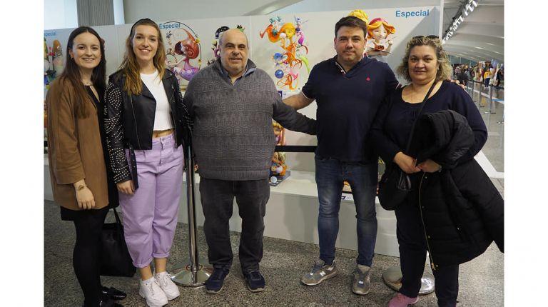 El ninot presentado por Fernando Foix para la Falla Duque de Gaeta gana el Premio Vicente Ros Belda 2020