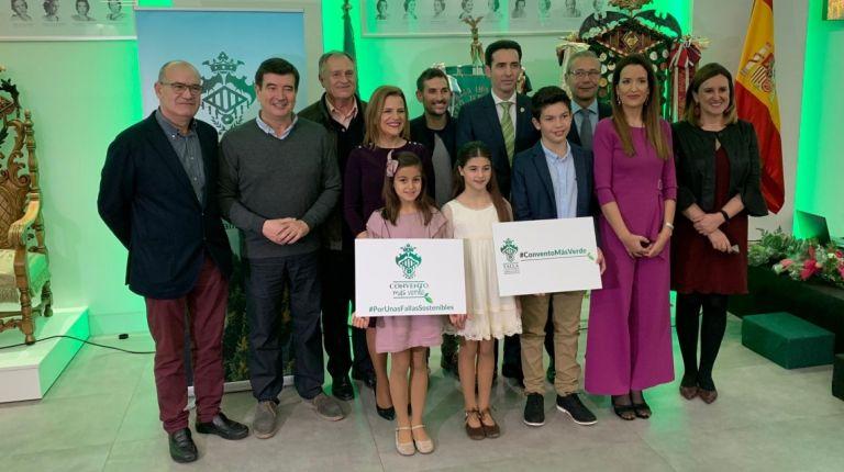 La Falla Convento Jerusalén plantará mil árboles en Llíria para mitigar la huella de carbono que genera