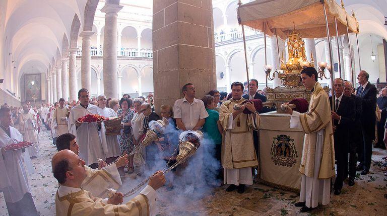 """El Cardenal preside mañana la procesión claustral de la Octava del Corpus en """"El Patriarca"""""""