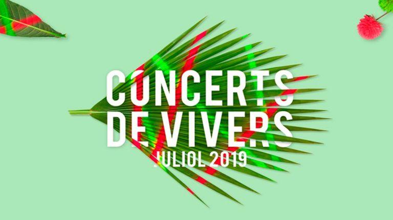 LOS CONCIERTOS DE VIVEROS 2019 ARRANCAN ESTE DOMINGO CON 18 ESPECTÁCULOS