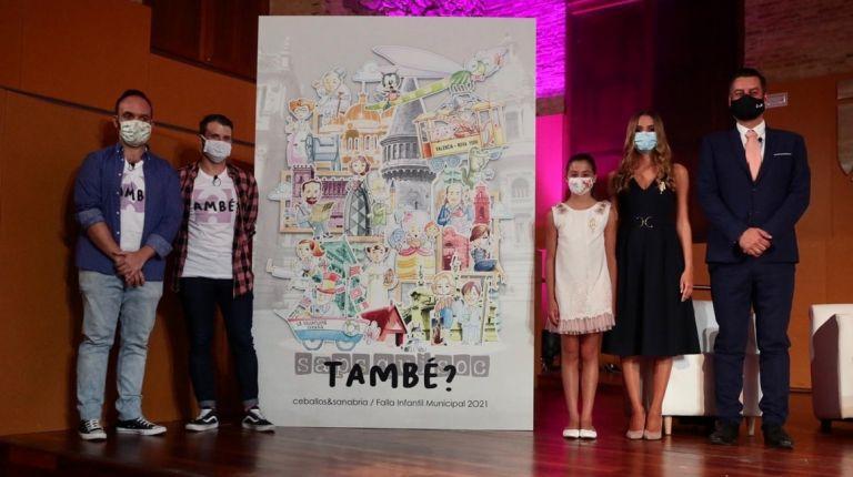 Los Artistas Ceballos y Sanabria han presentado su proyecto para la falla infantil municipal del año que viene
