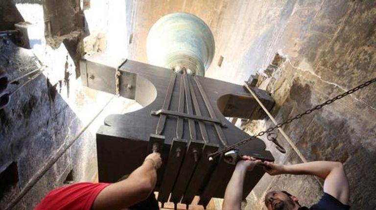 """Los campaneros del Miguelete realizarán este sábado el tradicional """"repret de les campanes"""" de San Lorenzo"""