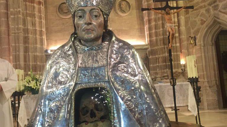 La Catedral de Valencia cede el busto relicario de Santo Tomás de Villanueva restaurado por el IV Centenario de su beatificación