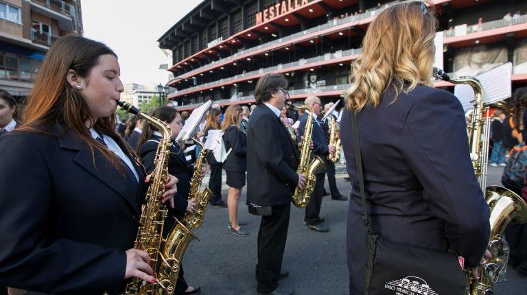 Las Fallas contarán con las actuaciones  de más de 14.000 músicos