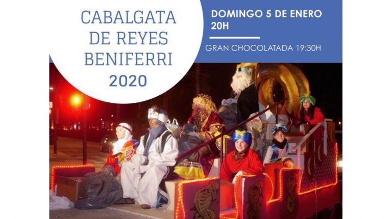 Beniferri recibe este domingo la visita de los Reyes Magos que entregarán regalos en la parroquia Santiago Apóstol