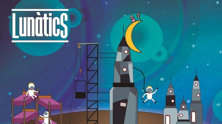 """Con """"Lunàtics"""" la falla Noscarmientas celebra el 50 aniversario de la llegada a la luna"""