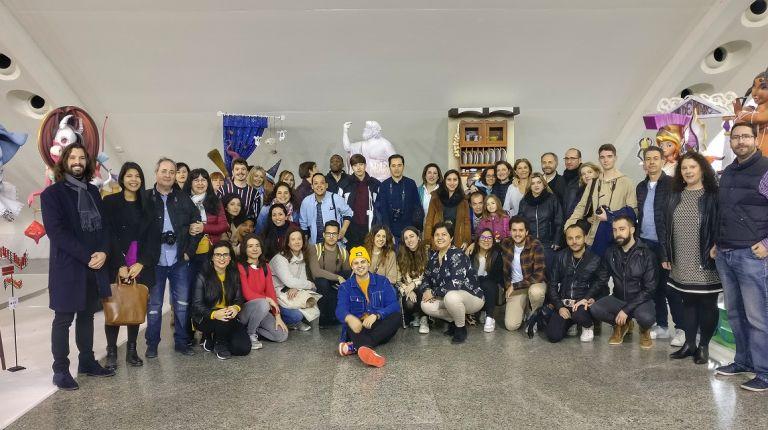 El tercer Instameet de la Exposición del Ninot se celebra con récord de participación