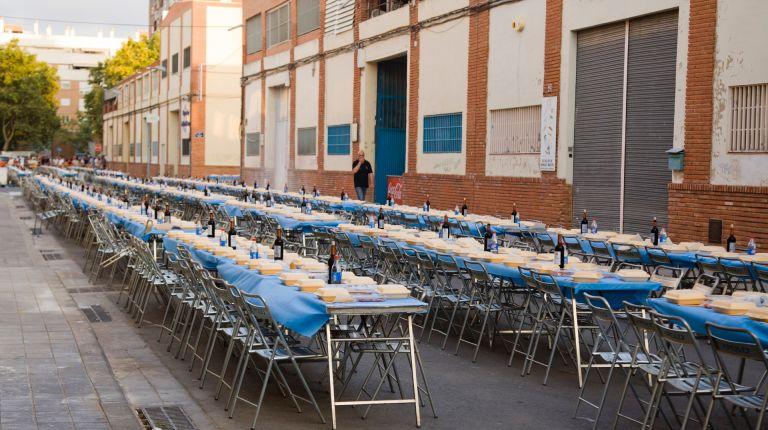 Mas de 1500 personas asistieron al sopar de la punxà