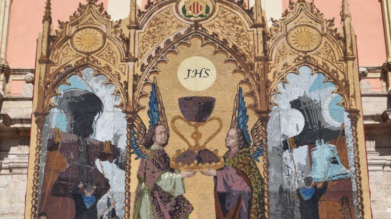 El tapiz del Corpus Christi
