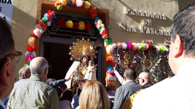 Novelda recibe la visita de la imagen peregrina de la Virgen de los Desamparados
